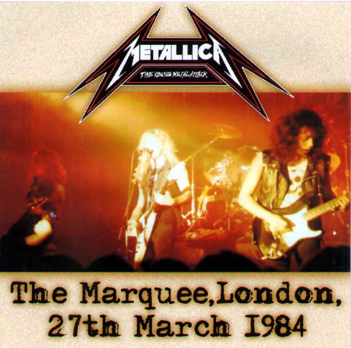 METALLICA – 1984-03-27 LONDON UK (Source 1) | Old Metal Bootlegs